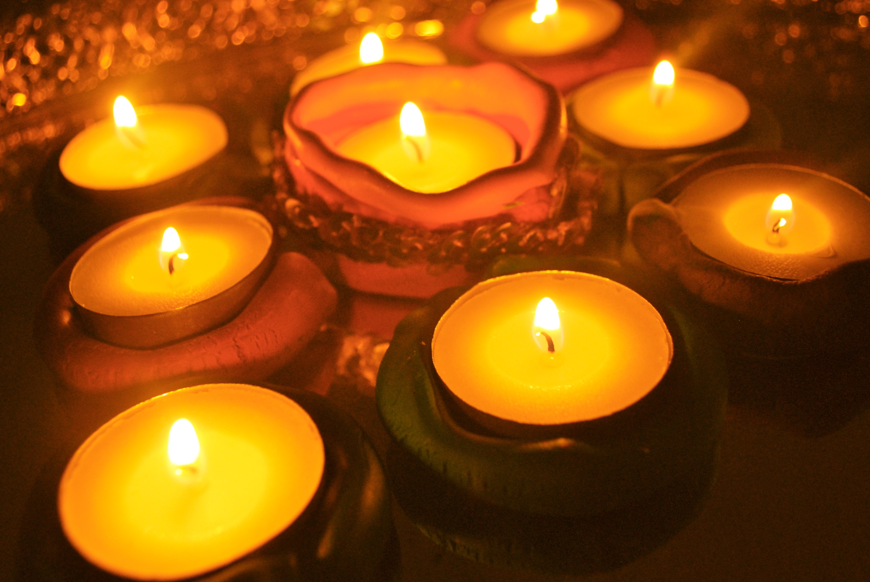 Floating Candles Ideas For Diwali Candle Decoration Golfclub