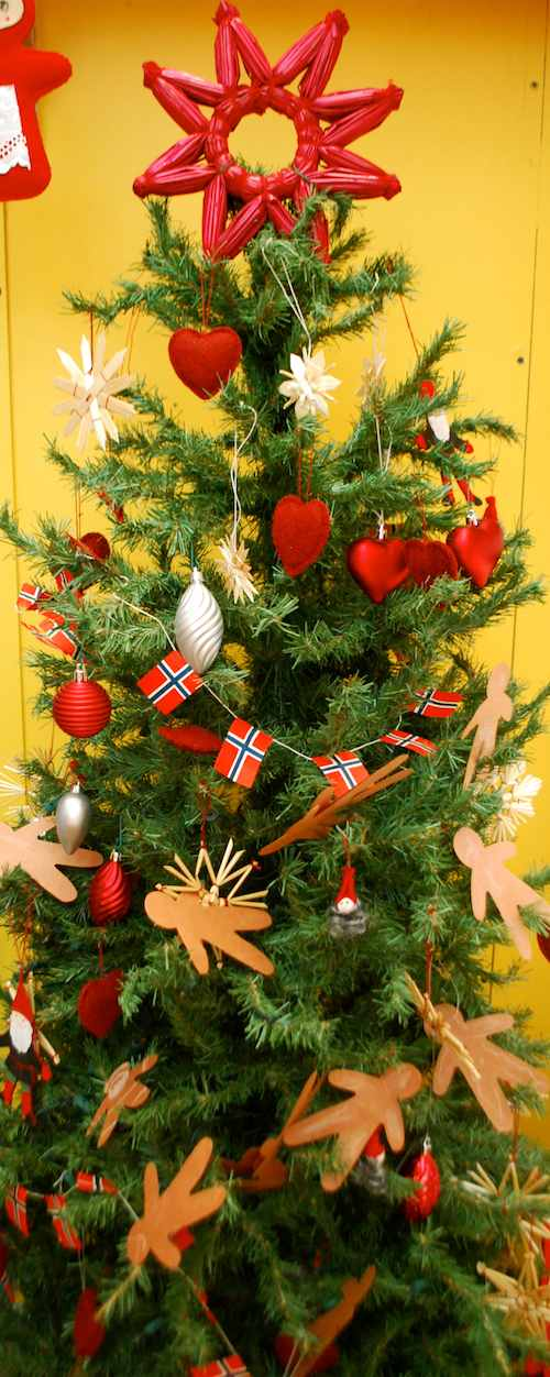 Norwegian Christmas Tree- Kid World Citizen