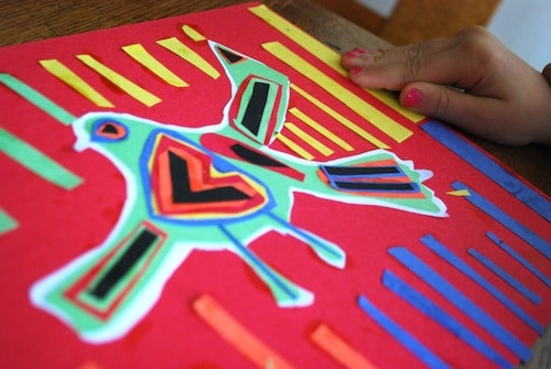 Create A Mola Folk Art From Panama