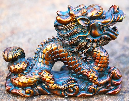 Chinese Dragon Figure- Kid World Citizen
