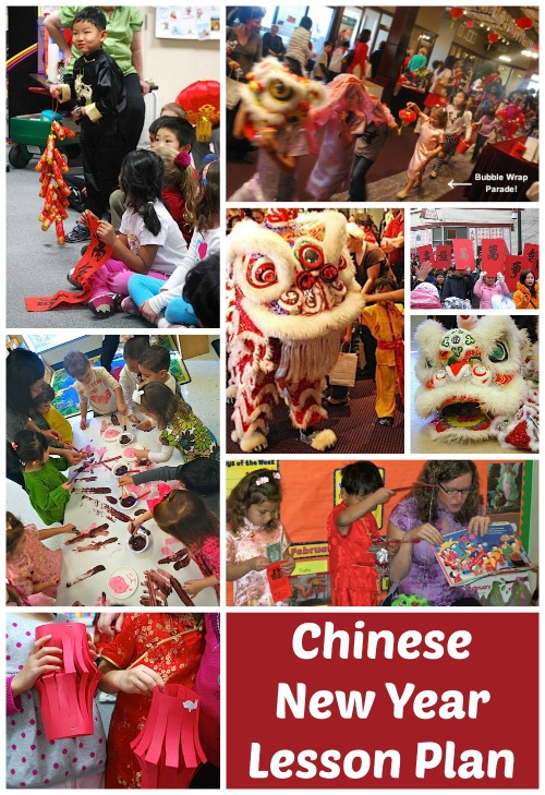 a lesson plan for chinese new year - Chinese New Year For Kids