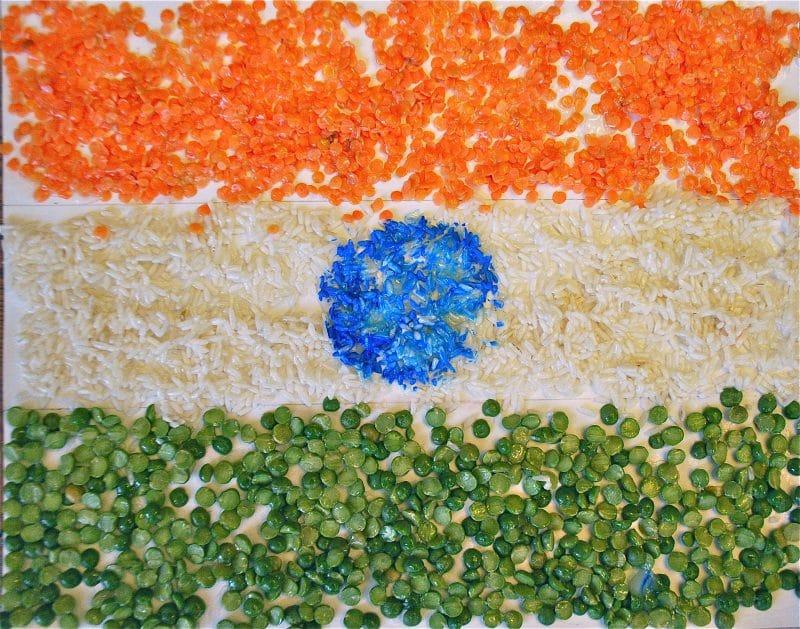 create a tiranga craft the flag of india