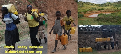Water Collection in Ethiopia- Kid World Citizen