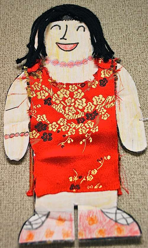 Chinese Paper Doll- Kid World Citizen