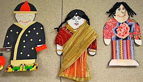 Make Multicultural Paper Dolls