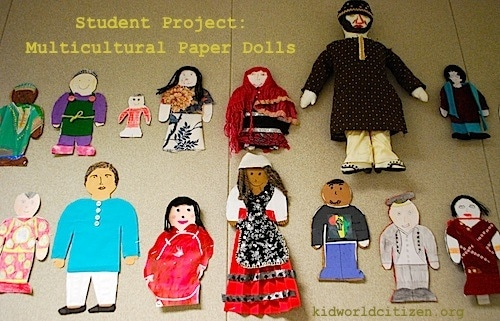 Multicultural Paper Dolls- Kid World Citizen