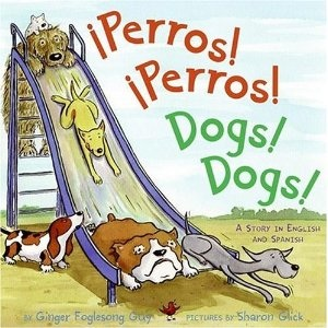 Perros Perros Dogs Dogs Bilingual Book- Kid World Citizen