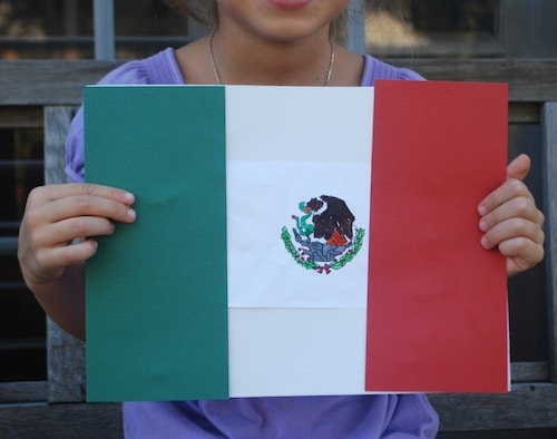 Mexican Flag- Kid World Citizen