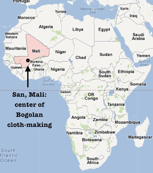 Make a Bogolanfini A Malian Mud Cloth