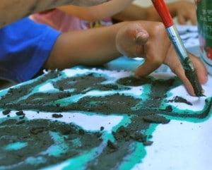 Kids Making Mud Cloths- Kid World Citizen