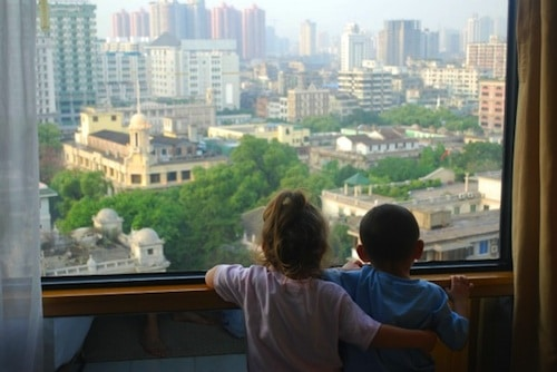 Watching Guangzhou Traffic- Bilingualism in Adoptive Families- Kid World Citizen