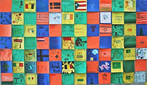 Diversity Quilt- Kid World Citizen