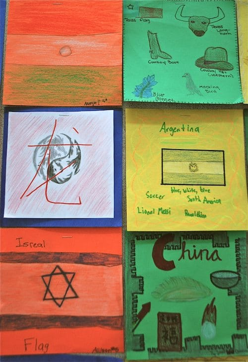 Diversity Quilt Squares- Kid World Citizen