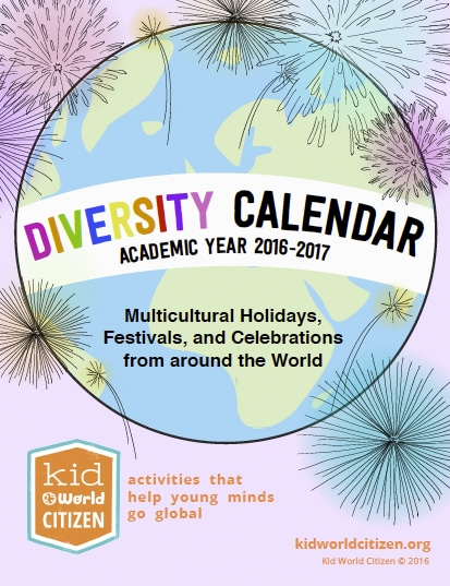 a 2013 calendar with special days and holidays included ...