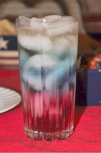 Red White and Blue drink- Kid World Citizen