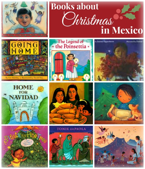 Books about christmas in mexico for kids of all ages for Mexican christmas crafts for kids