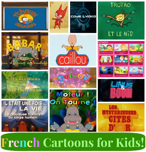 french cartoons for kids  12 shows perfect for language