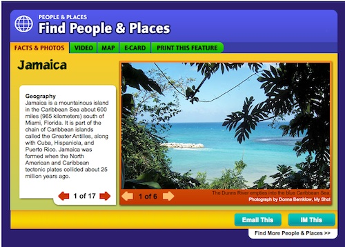 Jamaica National Geographic- Kid World Citizen
