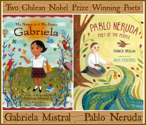 Calendar Girl June Read : Gabriela mistral and pablo neruda famous chilean poets