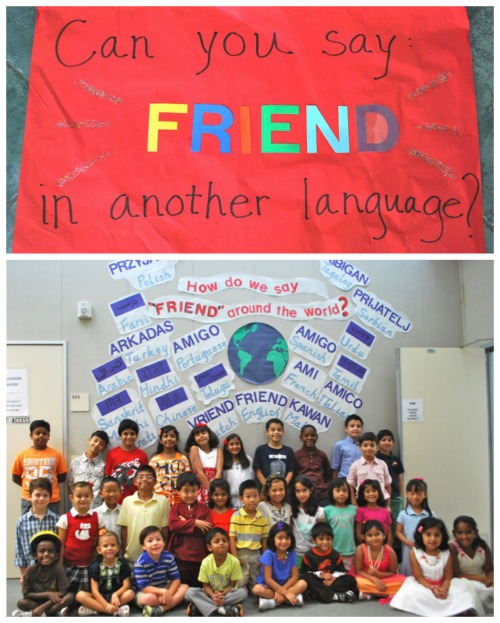 Global bulletin board ideas creating a welcoming school for I can bulletin board ideas