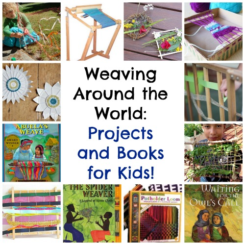 Weaving projects for kids multicultural books and crafts for Books with art projects