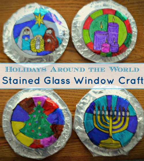 holidays around the world preschool holidays around the world craft gorgeous stained glass 895