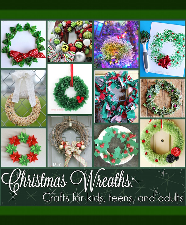 christmas crafts for adults to make christmas wreath projects for and adults 13173