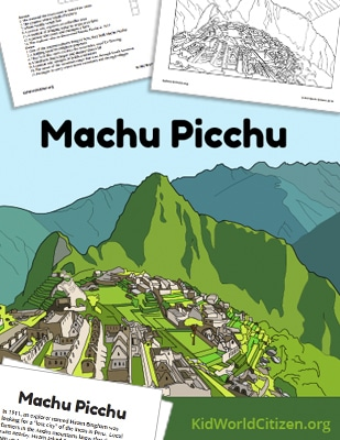 Learn about the Incas! Machu Picchu Reading and Activities ...