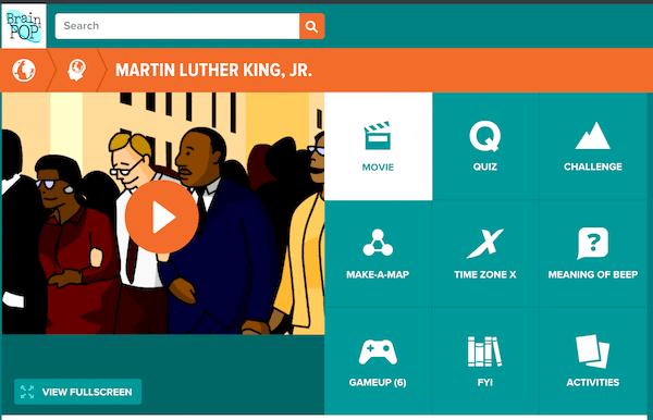 Martin Luther King Video- Kid World Citizen