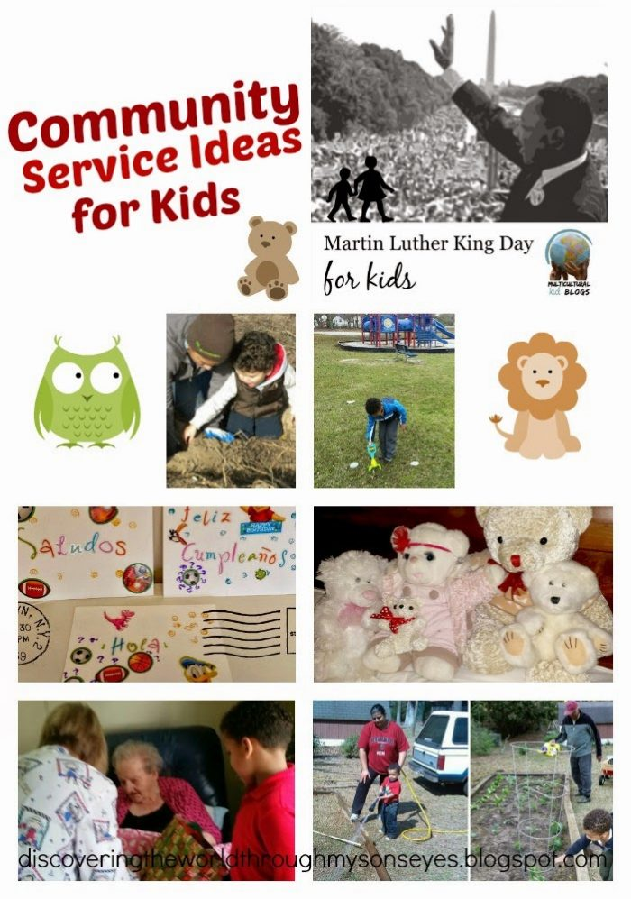 Community service kids- Kid World Citizen