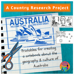 Australia Country Research- Kid World Citizen