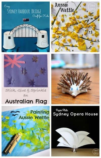 Australian Crafts for Kids- Kid World Citizen