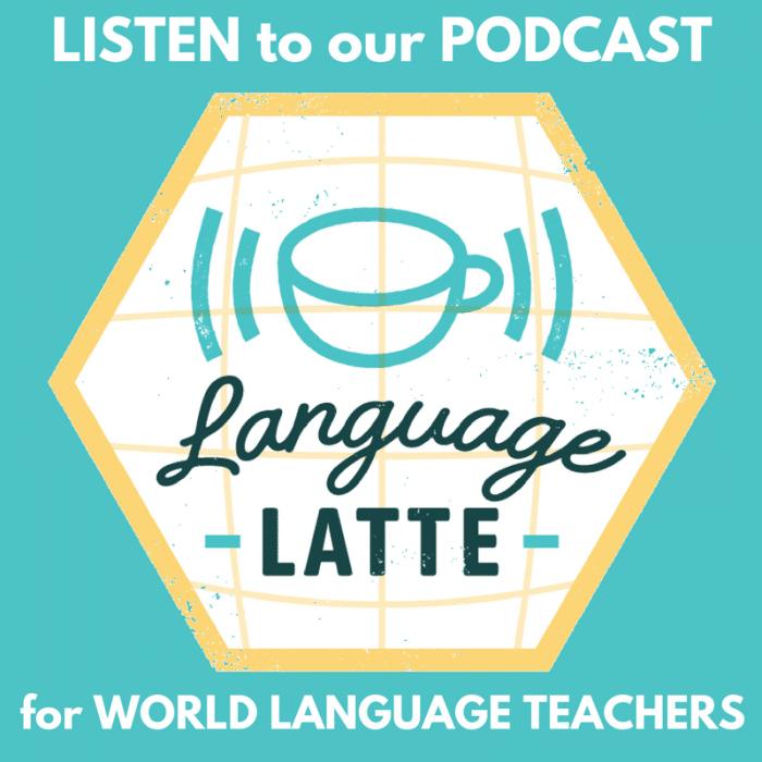 LISTEN to our PODCAST button Language Latte- Kid World Citizen